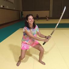 kristi keoughan samurai warrior